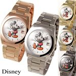 Disney レディース メタルブレスウォッチ D91132PGDWH/ピンクゴールド・ホワイト