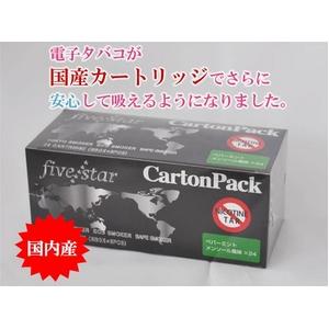 【電子タバコ】FIVE STARカートリッジ ペパーミントメンソール
