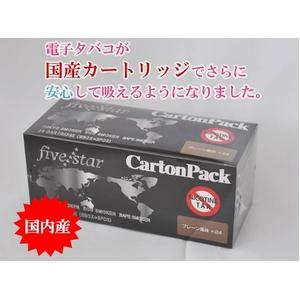 【電子タバコ】FIVE STARカートリッジ プレーン(ライトタバコ味)