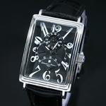 【Salvatore Marra】トリプルジャンピングセコンド自動巻き腕時計 SM6020-BK