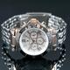 【Salvatore Marra】クロノグラフ腕時計 SM7019-PGWH 写真3