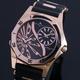 【Salvatore Marra】デュアルタイム腕時計 SM8007-PGBK 写真1