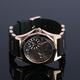 【Salvatore Marra】デュアルタイム腕時計 SM8007-PGBK 写真3