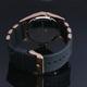 【Salvatore Marra】デュアルタイム腕時計 SM8007-PGBK 写真4
