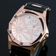 【Salvatore Marra】デュアルタイム腕時計 SM8007-PGWH 写真1