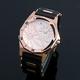 【Salvatore Marra】デュアルタイム腕時計 SM8007-PGWH 写真2