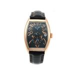 【Dolce Medio】デュアルタイム腕時計 DM8005PGBK