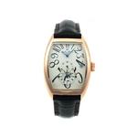 【Dolce Medio】デュアルタイム腕時計 DM8005PGWH