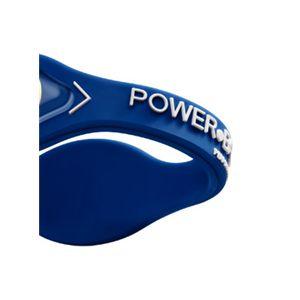 【日本正規品】POWER BALANCE(パワーバランス) シリコン・ブレスレット(ロイヤルブルー/ホワイト Sサイズ)【即日発送】在庫在り