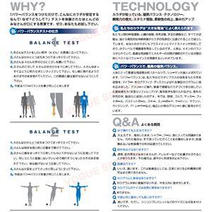 【日本正規品】POWER BALANCE(パワーバランス) シリコン・ブレスレット(ロイヤルブルー/ホワイト Mサイズ)