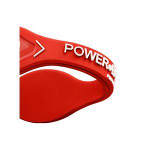 【日本正規品】POWER BALANCE(パワーバランス) シリコン・ブレスレット(レッド/ホワイト XSサイズ)