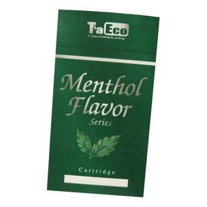 「TaEco」(タエコ)専用交換カートリッジ(バージニンスリムメンソール風味)15本入り
