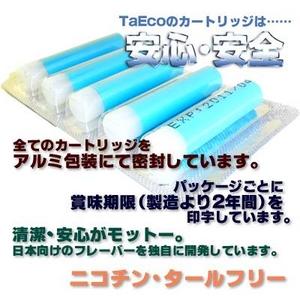 「TaEco」(タエコ)専用交換カートリッジ(ウォームアップ)15本入り