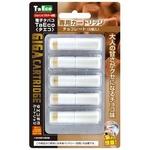 「TaEco」(タエコ)専用交換ギガカートリッジ(チョコレート)5本入り