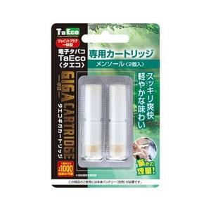 体臭・口臭対策通販 「TaEco」(タエコ)専用交換ギガカートリッジ(メンソール)2本入り