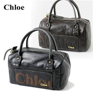Chloe(クロエ) タウンボストンバッグ ECLIPSE ブラウン