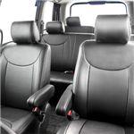 Dohm製 本革調シートカバー Executiveモデル ステップワゴン用 【S-H35】 ブラック 1台分