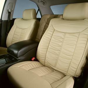 Dohm製 本革調シートカバー Sedanモデル クラウン用 【T112】 ベージュ 1台分