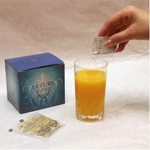 コラーゲン飲料 純度99.97% 飲むコラーゲン「LE PURE」(10cc×30包×2箱)