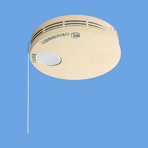けむり当番 薄型 住宅用火災警報器 和室色 電池式 10年寿命 SH38455Y