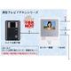 ハンズフリーカラーテレビドアホンセットJE1・1+1形(AC電源直結式) JES-1A-T
