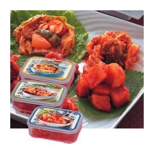 【韓国土産】 韓国一億兆キムチ食べ比べセット 各種300g 2パックセット の詳細をみる