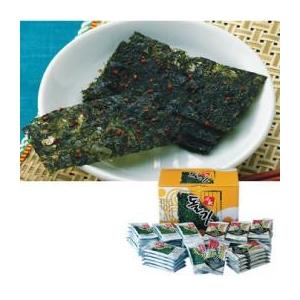 【韓国土産】 韓国名家(メイカ)のり&キムチのり56袋セット の詳細をみる