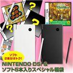 【期間限定1月13日まで】DSi ホワイト &ソフト5本入りスペシャル福袋