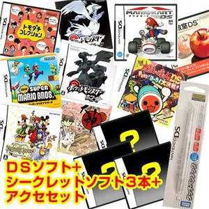 任天堂 DS トモダチコレクション + シークレットソフト3本 + アクセセット セット