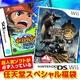 任天堂スペシャル福袋 Wii モンハントライ + DS イナズマイレブン2 ?脅威の侵略者? ブリザード + 人気ソフト3本