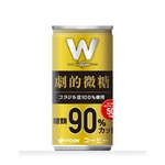 伊藤園 Wコーヒー 劇的微糖 190g×60本セット