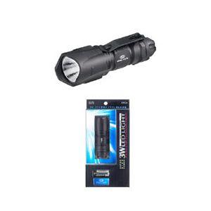 ELPA 3W LEDライト DOP-017BK