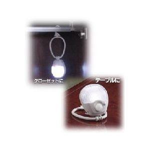 ELPA 乾電池式 LEDセンサー付ライト PM-L210(W)