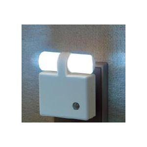 ELPA 2灯LEDセンサー付ライト PM-L300(W)