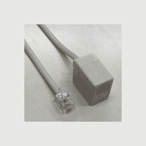 ミヨシ(MCO) モジュラー延長コード 6極4芯 10M MJ-410W-N