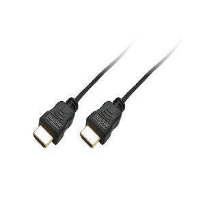ミヨシ(MCO) HDMIスリムケーブル19ピン-19ピン 1m HDMI-HS10/BK