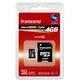 トランセンドジャパン 4GB マイクロSDHCカード TS4GUSDHC6 写真1