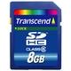 トランセンドジャパン 8GB SDHCカードCLASS6 TS8GSDHC6