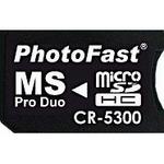 MS Pro Duo変換アダプタ PhotoFast CR-5300 microSDHC対応 の詳細ページへ