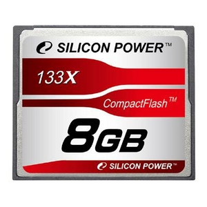 シリコンパワー 133倍速コンパクトフラッシュ8GB SP008GBCFC133V10