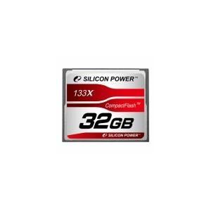 シリコンパワー 133倍速コンパクトフラッシュ32GB SP032GBCFC133V10