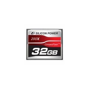 シリコンパワー 200倍速コンパクトフラッシュ32GB SP032GBCFC200V10