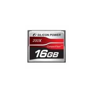 シリコンパワー 200倍速コンパクトフラッシュ16GB SP016GBCFC200V10