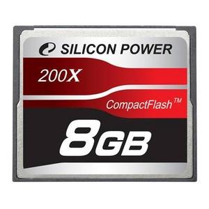 シリコンパワー 200倍速コンパクトフラッシュ8GB SP008GBCFC200V10