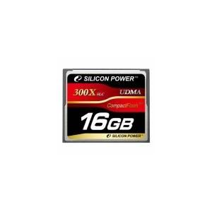 シリコンパワー 300倍速コンパクトフラッシュ16GB SP016GBCFC300V10