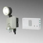 【防犯グッズ】【防水】ELPA LEDセンサーライト1灯+ワイヤレスチャイムセット  ESL-401ACSTの詳細ページへ