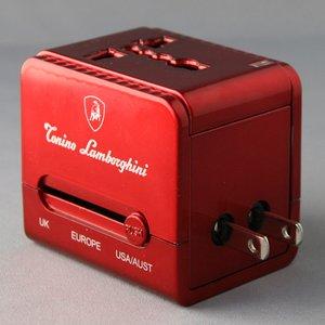 ブライトンネット   ランボルギーニ USBチャージャー付きトラベルアダプタ BS-LAMWORLDAC/R
