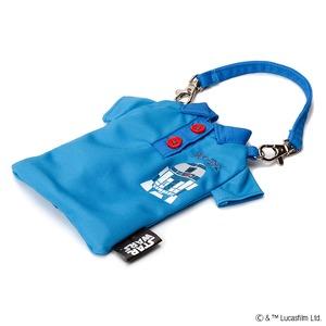 PGA スター・ウォーズファッションポーチ ポロシャツタイプ R2-D2 PG-DAS327R2