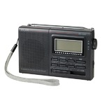 ELPA AM/FM/短波ラジオ 液晶表示 ER-C55T