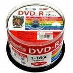 HIDISC(磁気研究所) CPRM対応 録画用DVD-R 16倍速対応 50枚 ワイド印刷対応 HDDR12JCP50-6P  【6個セット】の詳細ページへ